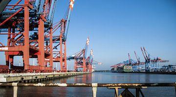 Containerhaven Waltershof van Norbert Sülzner