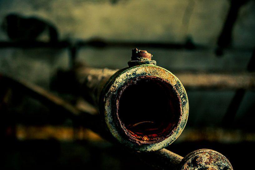 URBEX PIPES @ BAUMWOLL SPINNEREI GRONAU van SchippersFotografie
