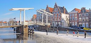 Haarlem Gravestenenbrug van