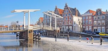 Haarlem Gravestenenbrug van Dalex Photography