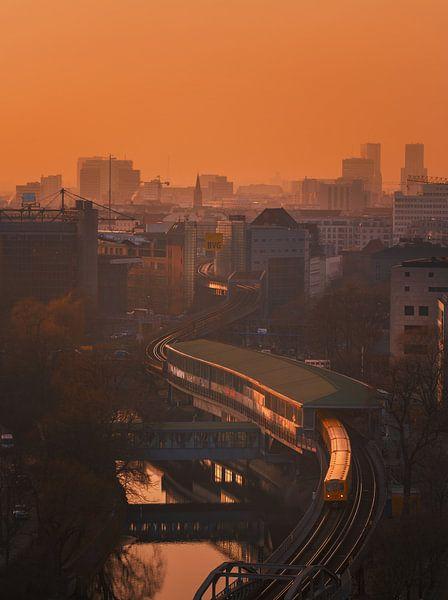 Berlin Sunset van Patrick Noack