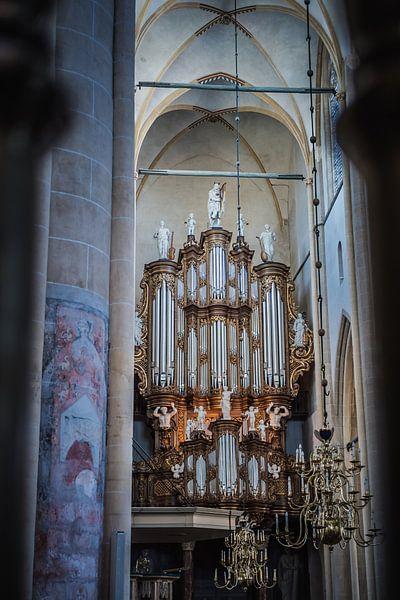 Orgel Bovenkerk Kampen van Gerrit Veldman