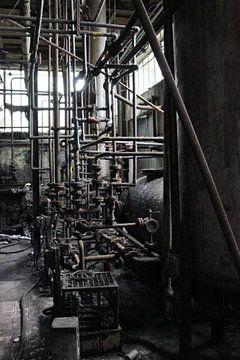 verlaten fabriek, urbex von Ellen Overtoom
