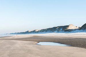 Bevroren strand (Wijk aan Zee)