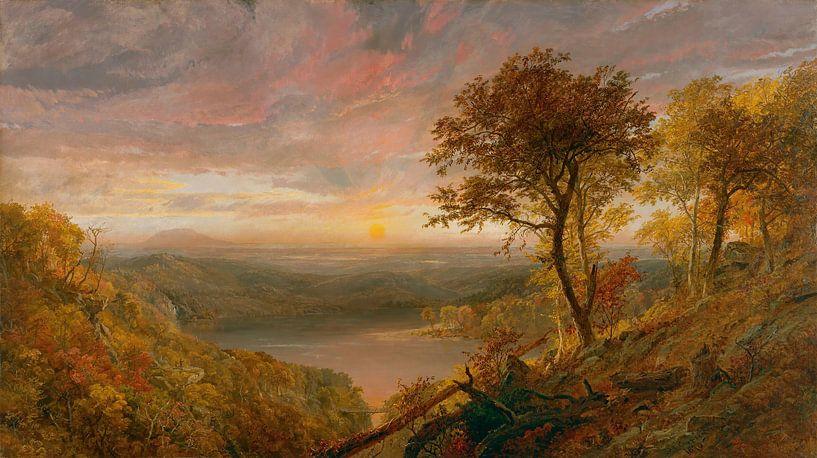 Jasper Francis Cropsey-Greenwood Lake. von finemasterpiece