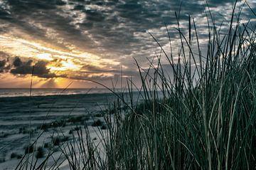 Zonsopgang strand van Ameland  von Oege Smedinga