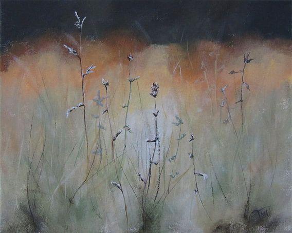 """Impressionistisch schilderij """"Kropaar"""" van Tanja Udelhofen"""