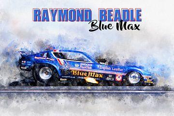 Raymond Beadle, Blue Max met titel van Theodor Decker