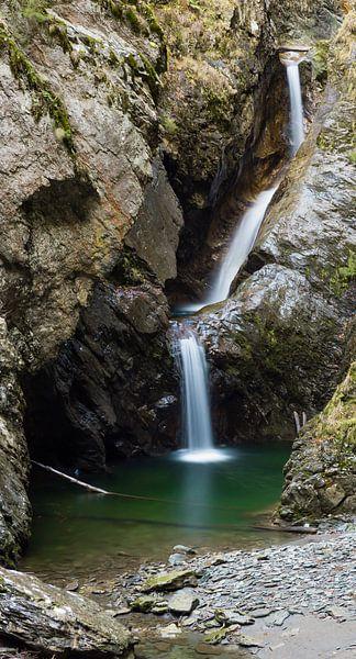 Cascade de la Diosaz van Jc Poirot