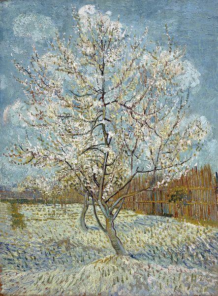 Vincent van Gogh. De roze perzikboom van 1000 Schilderijen
