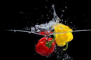 Paprika's te water