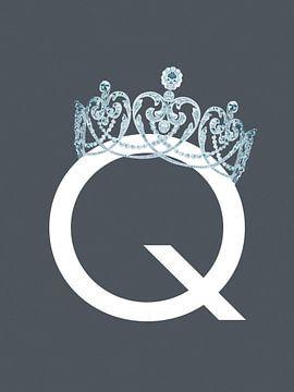 Q - Dame von Goed Blauw