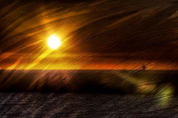 evening sun van JF art