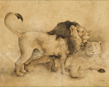 Globale Lions Licht Crop, Cheri Blum von Wild Apple