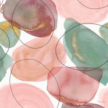 Petal Passion Pattern II, Beth Grove van Wild Apple