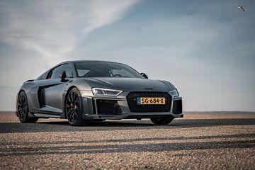 Audi R8 V10+ ABT - 1 of 3 wereldwijd van Luke van Megchelen