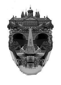 Amsterdam Stadtbild-Architektur - WEISS