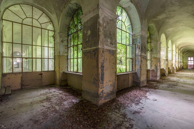 Grüne Halle von Perry Wiertz