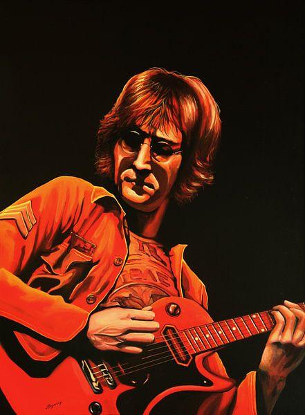 John  Lennon schilderij van Paul Meijering