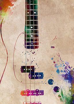 Gitaar 12 muziekkunst #gitaar #muziek van JBJart Justyna Jaszke