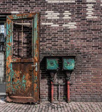 Tür mit Sicherungskasten von Ans Bastiaanssen