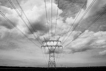 Polderlandschap & electriciteitstoren