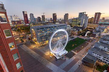 Markthalle mit Riesenrad von Prachtig Rotterdam