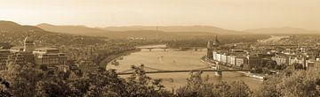 Panorama Boedapest van Aldo Westmaas
