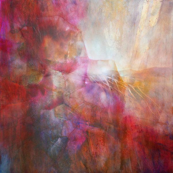 Drifting - abstrakte Komposition von Annette Schmucker