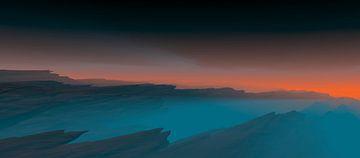 Schöner Sonnenuntergang 8 von Angel Estevez