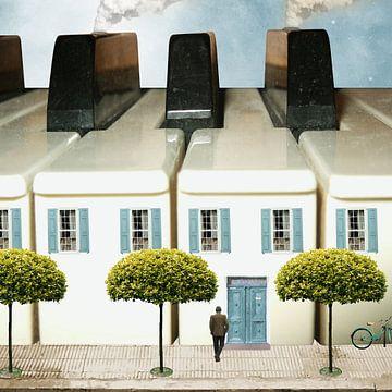 Huis van de pianist van Harald Fischer