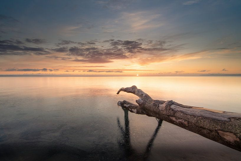 Sonnenaufgang über der Ostsee von Sebastian Holtz