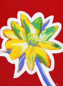 Wartende Blume von ART Eva Maria