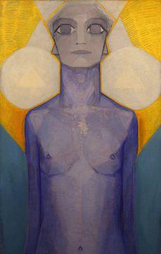 Evolution des Menschen, Piet Mondrian