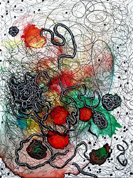 Emotionele landschappen 2 van Katarzyna Strumis
