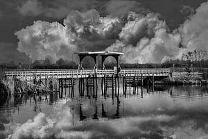 Balck/Weiß, Die Brücke, Thorn, Limburg, Die Niederlande
