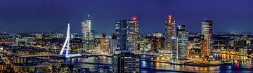 Skyline Rotterdam van Klaus Lucas