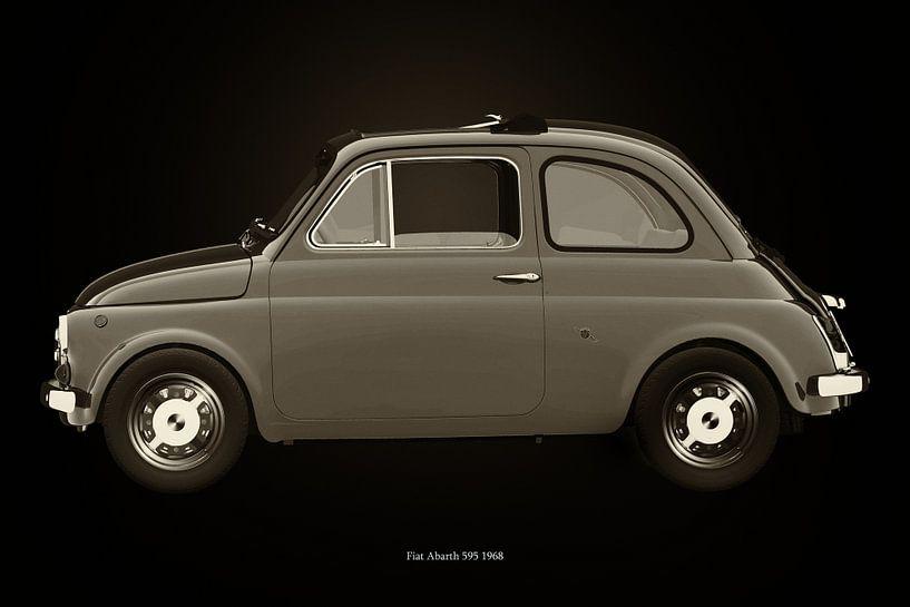 Fiat 500 van Jan Keteleer