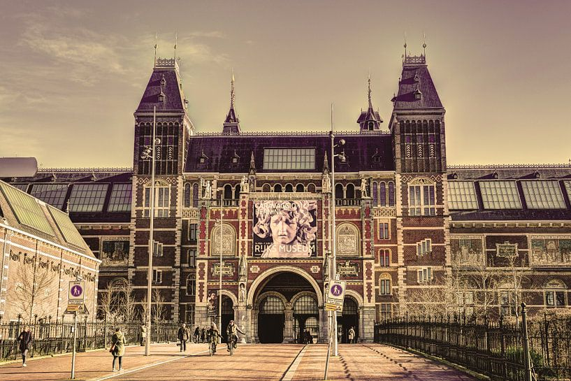 Rijksmuseum Amsterdam Winter Oud van Hendrik-Jan Kornelis