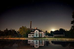 De oude dakpannenfabriek van Hazerswoude portrait van