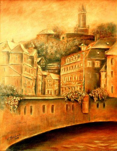 Dillenburg historische oude binnenstad