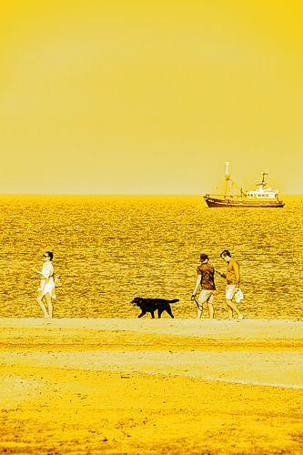 Gouden Strand Noordwijk aan Zee Nederland