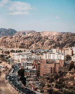 Stad in Jordanië naast Petra