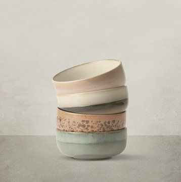 Gestapelte Keramiken von Color Square