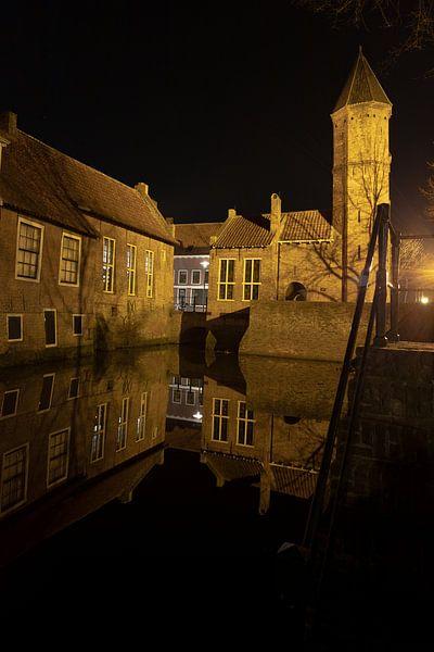 Amersfoort bij nacht van Gertjan Hesselink