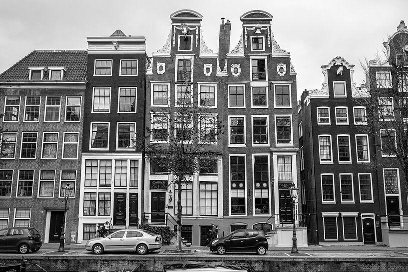 Amsterdam grachtenhuizen van Vincent de Moor