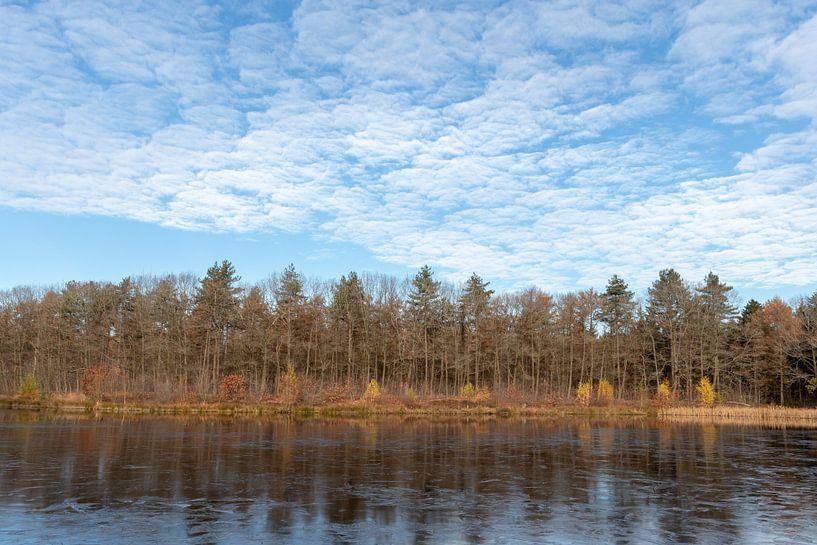 Natuurlijke wolkenpracht. van Anjo ten Kate