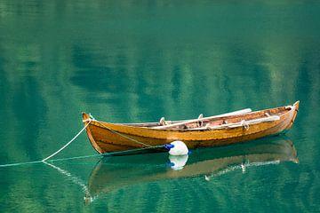 Boot auf dem Storfjord von Rico Ködder