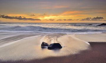 Zonsondergang strand Fuerteventura von