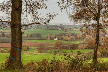 Zuid-Limburg in herfstkleuren von John Kreukniet